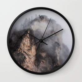 Dolomites in Color Wall Clock