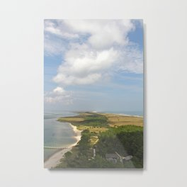 View from Above, Vertical Metal Print