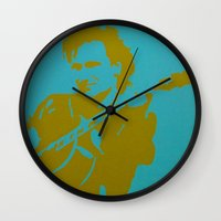 u2 Wall Clocks featuring Bono - U2 by Tipsy Monkey