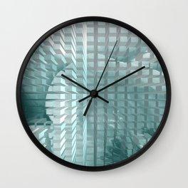 Abstract pattern 60 Wall Clock