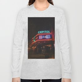 Vintage Movie Theater Long Sleeve T-shirt