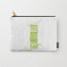 Barcode & Swirls Carry-All Pouch