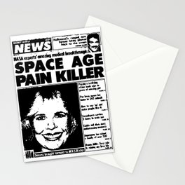 SPACE AGE PAIN KILLER (2016) Stationery Cards