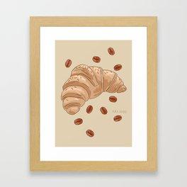 Croissant Framed Art Print