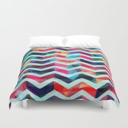 ZAG OF WAVES Duvet Cover