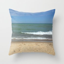 A Peaceful Moment At The Lake Throw Pillow