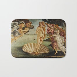 The Birth of Venus by Sandro Botticelli Bath Mat