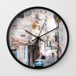 Old Havana Wall Clock