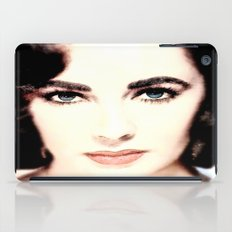 Elizabeth Taylor Face iPad Case