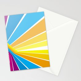 Stripes universe Stationery Cards