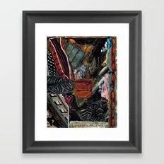 Disintegration 2 Framed Art Print