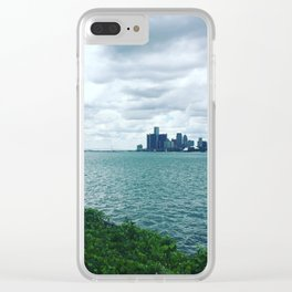 city views Clear iPhone Case