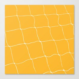 Tennis Net Pattern Canvas Print