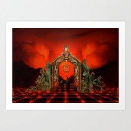 Hell Gate Art Print