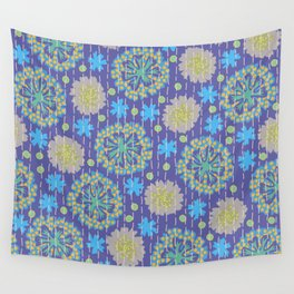 Kantha floral 4 Wall Tapestry