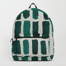 Teal Dashes Backpack