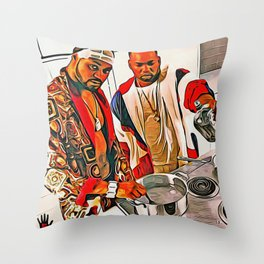 COOKING UP SOMETHING MARVELOUS Throw Pillow