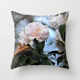 Flower No 3 Throw Pillow