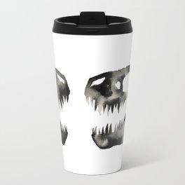 Inkblot Trex Dinosaur Travel Mug