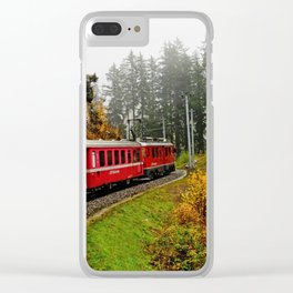 Full Speed Ahead Clear iPhone Case