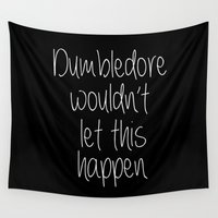 dumbledore Wall Tapestries featuring Dumbledore by bitobots