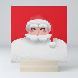 Santa Claus Christmas portrait Mini Art Print