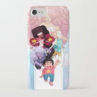 steven universe iPhone & iPod Cases featuring Steven by clayscence