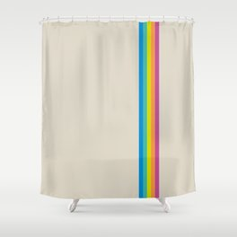 Rainbow - vintage photo Shower Curtain