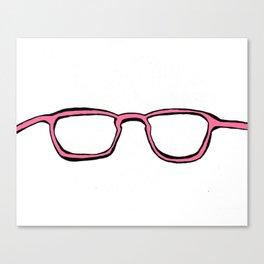 Four Eyes - PINK Canvas Print