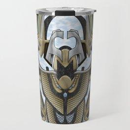 Claddagh Hawk - Celtic Inspired Art Deco Travel Mug