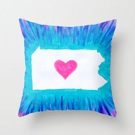 Pennsylvania State Pride Throw Pillow
