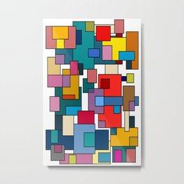 Color Blocks #7 Metal Print