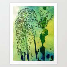 Spoiled Serpents Art Print