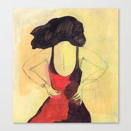SELINA BEACH SKETCHBOOK Canvas Print