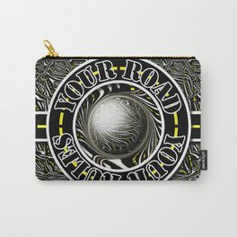 Travel Lover's Motto of Your Road, Your Rules Carry-All Pouch