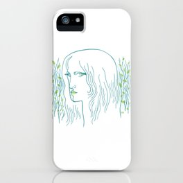 Woods Woman 1 iPhone Case