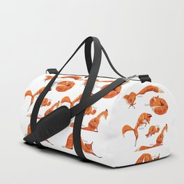 Fox poses Duffle Bag