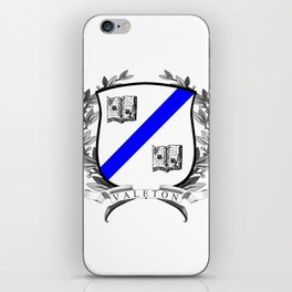 Valeton University Crest iPhone Skin