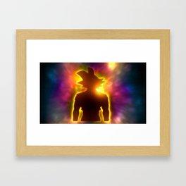 Spirit of a Saiyan Framed Art Print