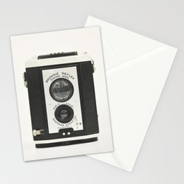 Brownie Reflex Camera Photography, Old Vintage Camera Stationery Cards