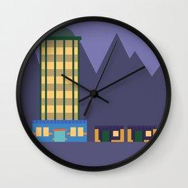Lavender Town Wall Clock