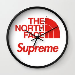Supreme x The North Face Wall Clock