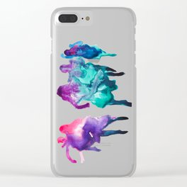 Run like a girl Clear iPhone Case