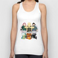 sasuke Tank Tops featuring Team 7 On the Move by rendhy wahyu