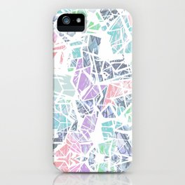 Tropical Geometry iPhone Case