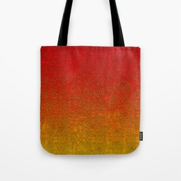 Flame Glitter Gradient Tote Bag
