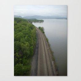 Train Tracks ... Canvas Print