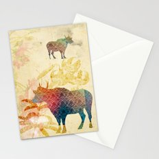 Chinese Lunar New Year and 12 animals ❤ The OX 牛 Stationery Cards