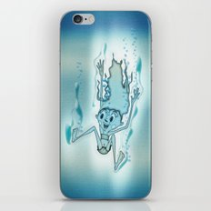 Blue Turquoise iPhone & iPod Skin