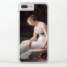 Melancholy, Constance-Marie Charpentier, 1801 Clear iPhone Case